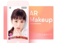 AR Makeup for Lipsticks