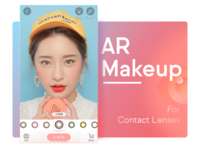 AR Makeup for Contact Lenses