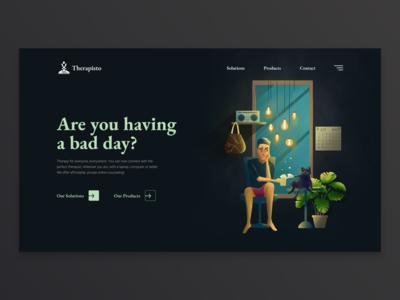Therapisto Landing Page