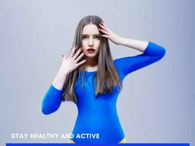 Blue Woman Fitness