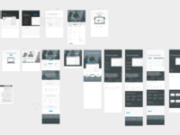Lever marketing site iterations