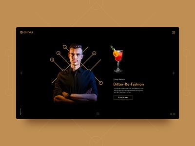 Chivas Night Heroes bartenders cocktails user experience user interface web chivas ui design