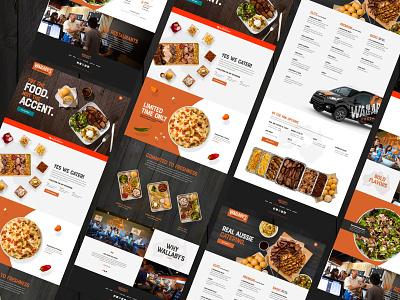 Wallaby's Website responsive design restaurant uidesign ui  ux uiux ui webdesign website design websites website web