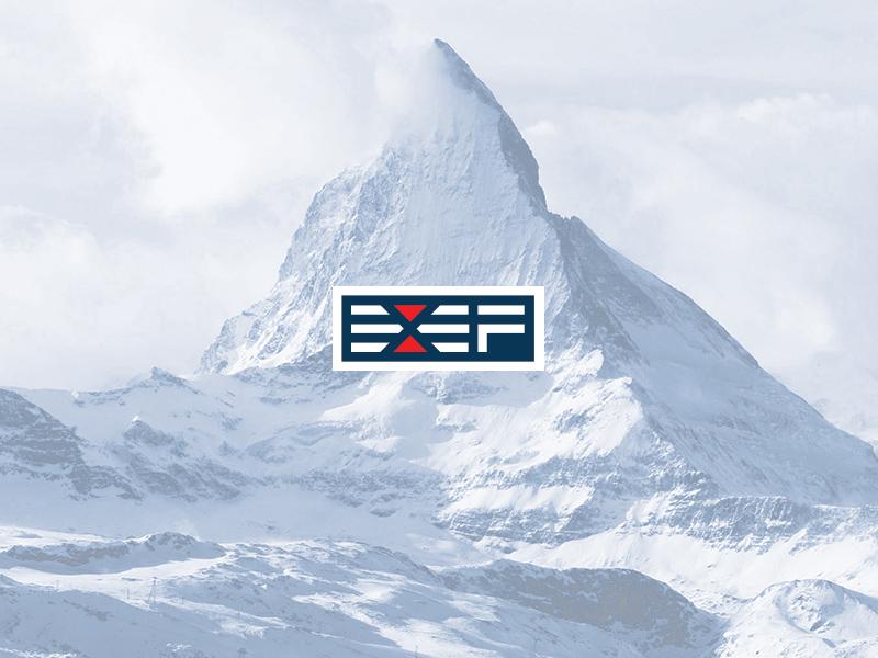 Exef Logo line minimal logo
