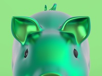 Anodized Pig