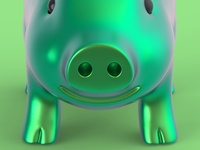 Anodized pig 2