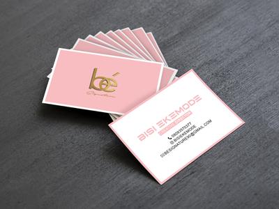 BE Signature Comp Card