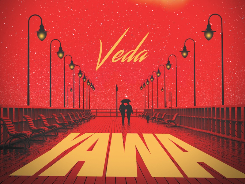 Veda - YAWA design photography music cover art