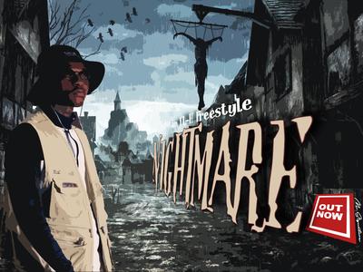 Nightmare music artwork music cover art