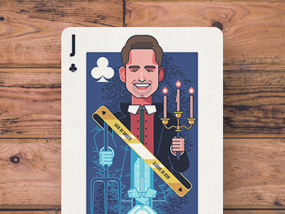 Startup Founder Playing cards design illustration playing cards