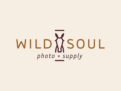 Wild Soul Photo + Supply organic outdoors natural western branding design illustration linedrawing minimal horse branding photography logo photographer