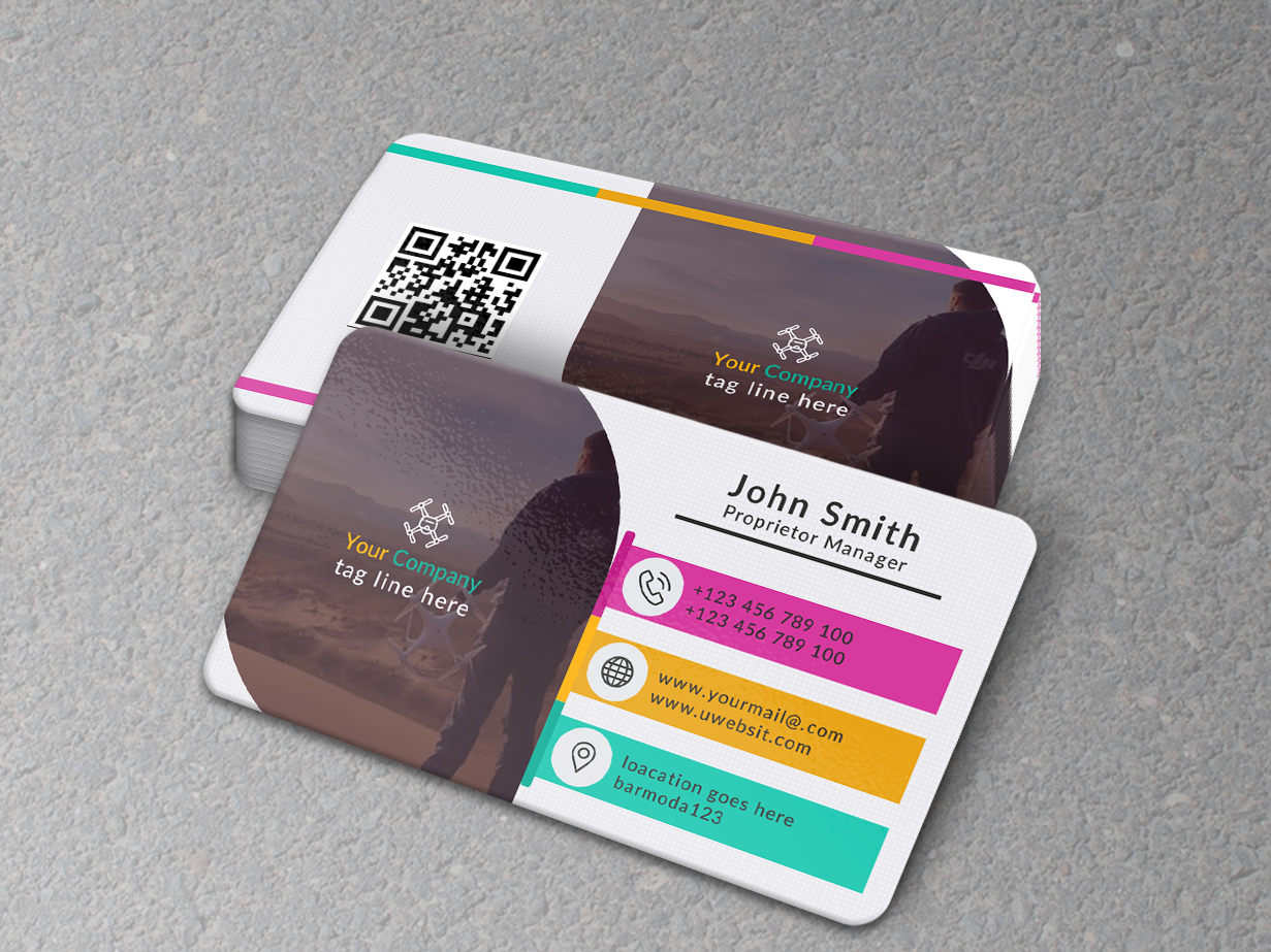 Business Card clear cmyk branding desiign typography brand print template creative color card business card business corporate colorful clean design busines card adobe photoshop