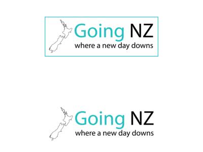 Travel l NZ logo design