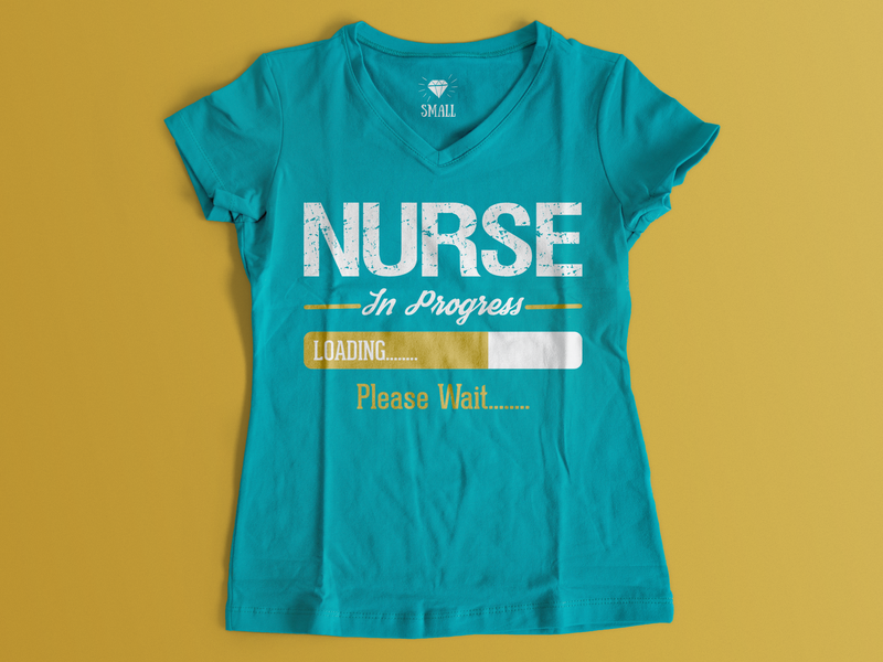 Nurse T-Shirt Design official merch mafia illustration head energy editable detective dark custom clothingline character brand stylish specials typogaphy navigation tshirts tshirt nurse