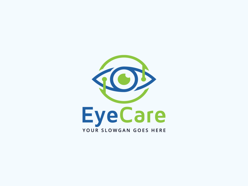 Eye Care Logo Design faysal7a eyecare icon health green graceful focus flexible eyes eye logo vector eye logo eye clinic eye care eye elegant design concept blue beauty clinic beauty care