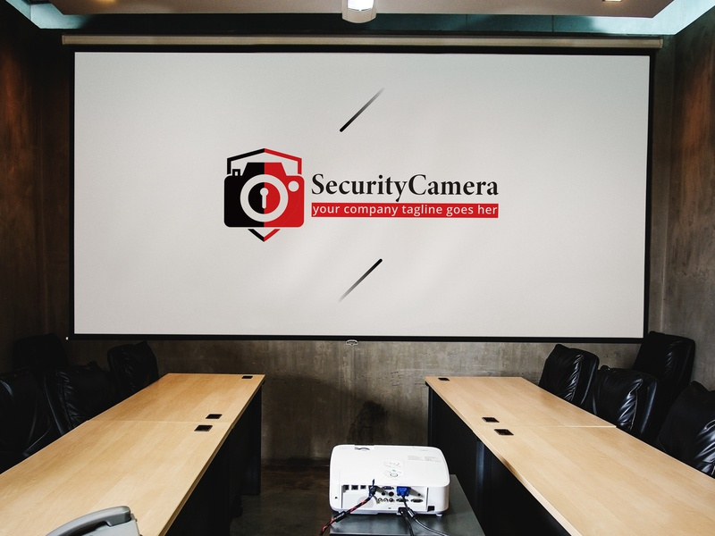 Security Camera logo Design security recording protection professional pixel photoshoot photography photo media lens images image eye electronic digital device coverage capture camera camcorder