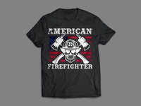 FireFight T-Shirt Design