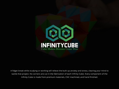 Infinity Cube Logo Design business box architect abstract faysal7a virtual technologies synergy studio software sharing media investment infinity infiniti infinite hexagonal hexagon expert exchange