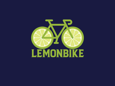 Lemon Bike Design brand business clean lemonly faysal7a lemon music media logo media logotype logo template logo limes lime logo lime lemons lemon logo