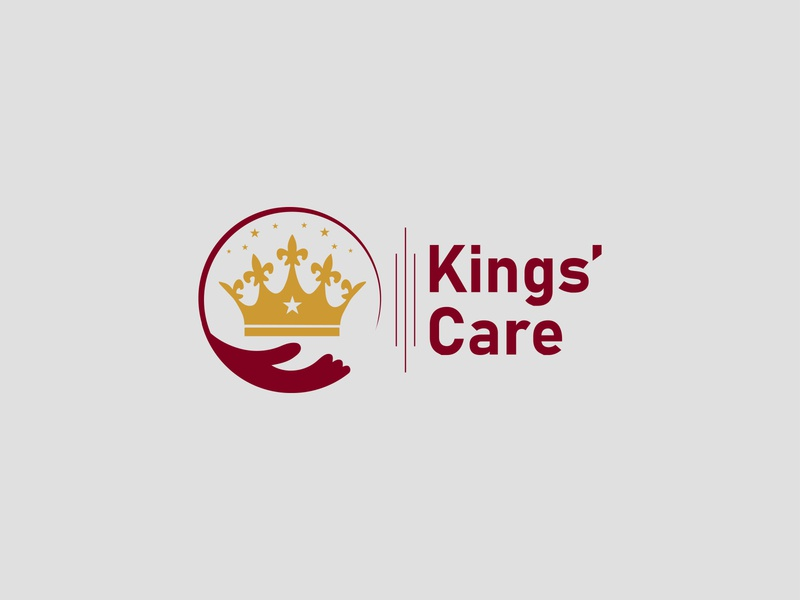 Kings Care Logo Design skin care king design abstract design abstract care log kings care logo wildlife wild tiger store silvan shop service ruler royalty royal queen pet shop pet paw
