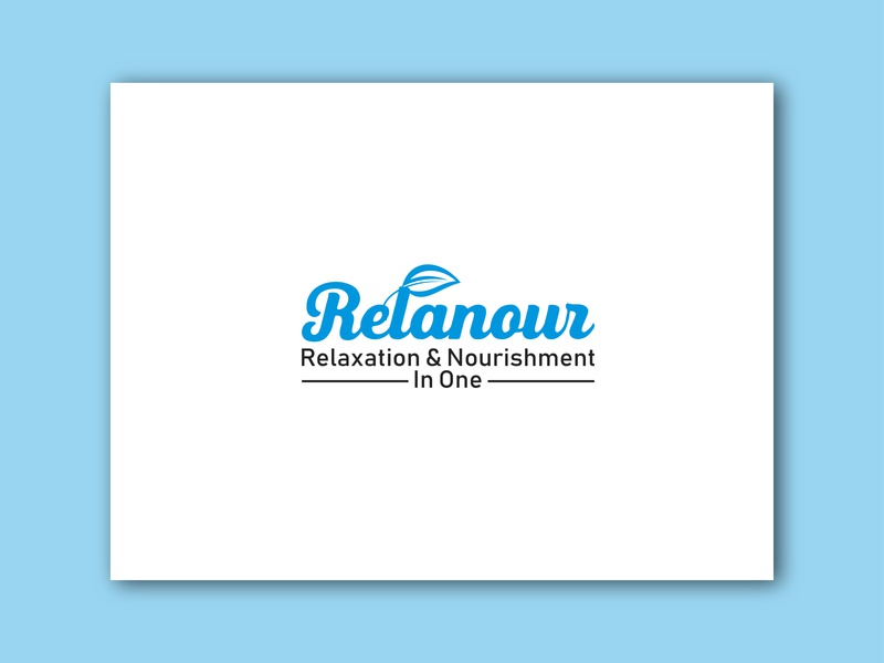 Relanour Logo Design elegant eco dove cute center blossom bloom cs tags	beauty typography abstract creative faysal7a brand vector ui illustration design business logo