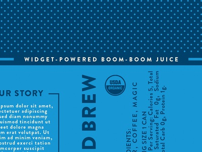 it's all in the details y'all boom boom blue pattern design product scraps packaging