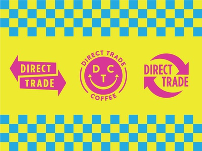 some silly marks packaging coffee print cmyk logo mark