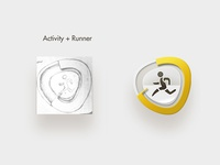 Runner Icon concept 4
