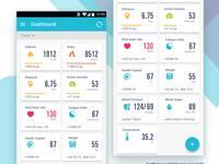 Healthkeeper dashboard concept 03