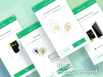 Health measurement guideline