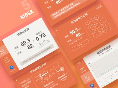 The concept UI of Kiosk 05