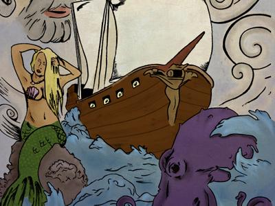 Pirateship illustration small