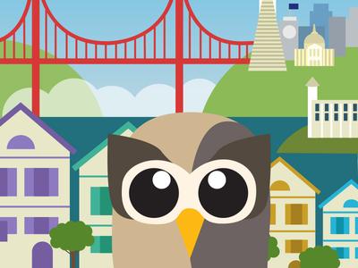 Owly Does San Francisco