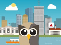 Owly also lives in Boston