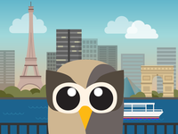 Owly heads to Paris