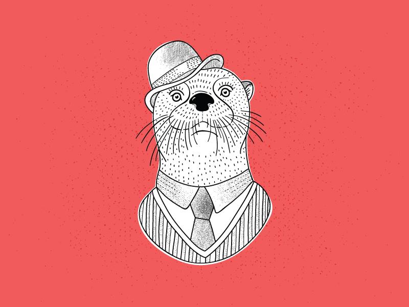 Fancy Friends - Otter otter suit fancy friends