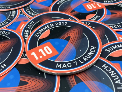 1.10 Release Stickers mesosphere sticker stars rings planet space