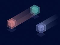Illuminated Cubes - WarmUp 12.20