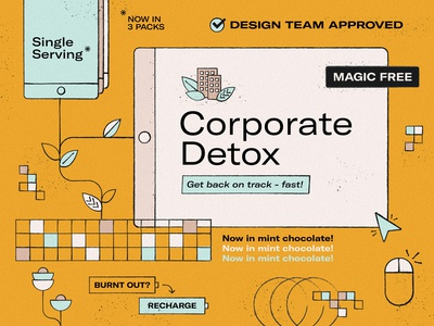 Concept for a Corporate Detox piece