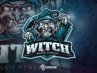 Witch Magic Power Mascot