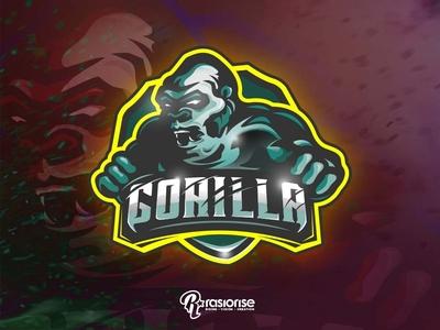 The Gorilla  mascot