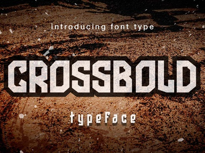 Crossbold font Display for sale font for sale typeface mascot logo esports logo typographic typography typogaphy typo font display fonts font awesome font family font design font