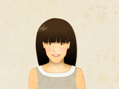 Amy caricature vector