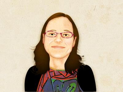 Rosie caricature vector