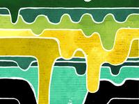 Drip Pattern Colour