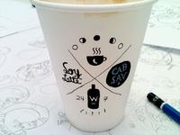 Coffee vs Wine Cup