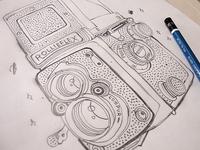 Rollieflex sketch