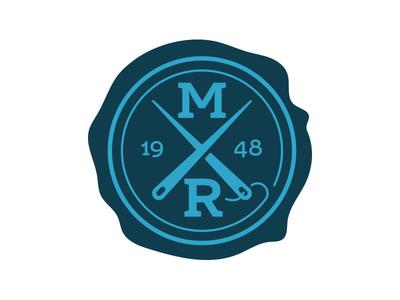 Wax Stamp stamp logo typography illustration
