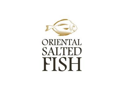 oriental salted fish logo design