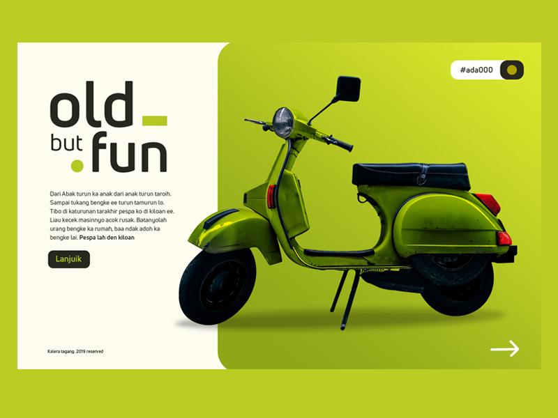 Fun classic ui design website app web typography webdesign digital ux uxdesign ui uiux uidesign